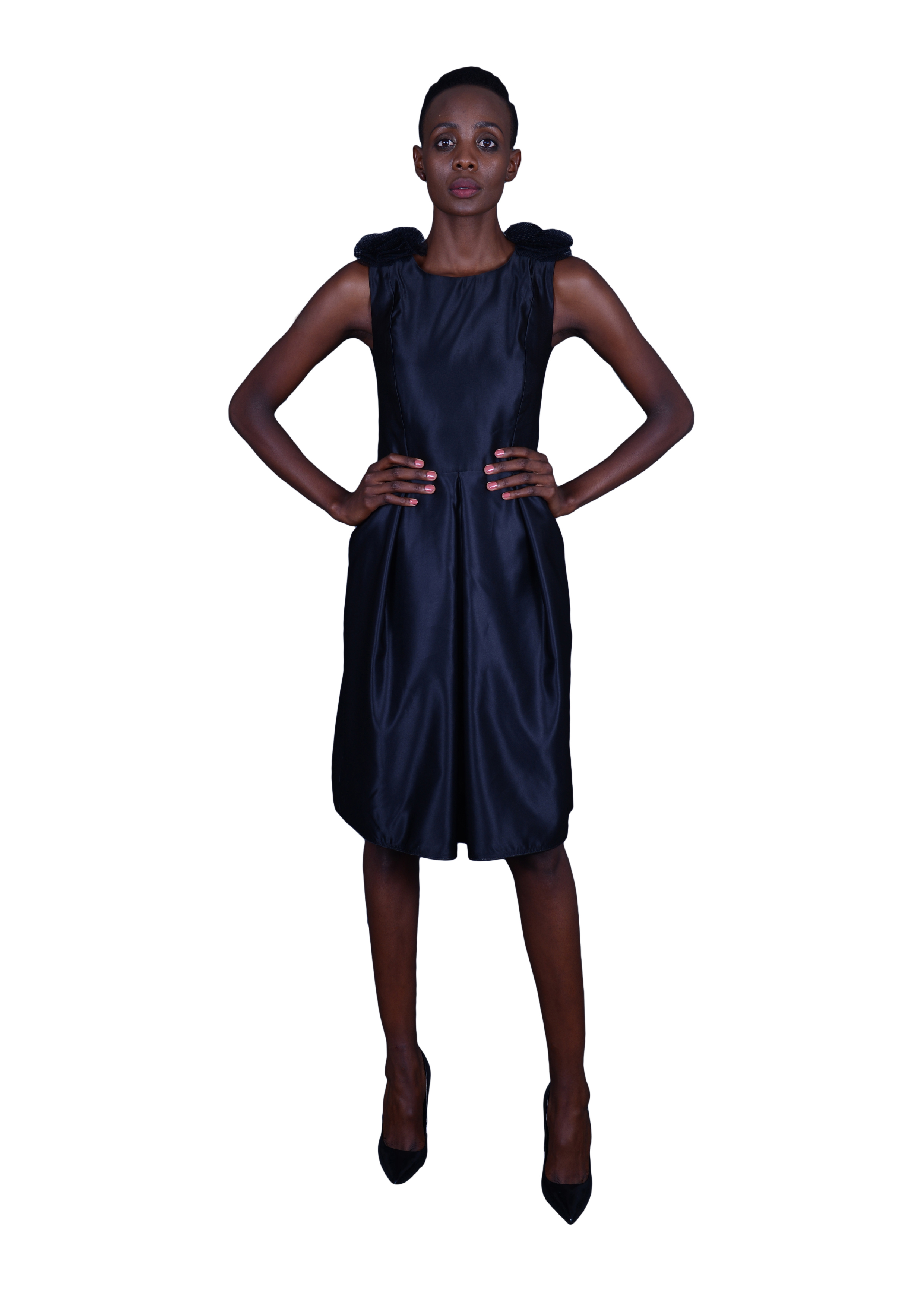 rubicon-clothing-alice-dress-with-pleats-front